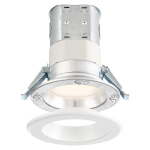 White Four-Inch 10W 5000K 700 Lumen LED Recessed Light