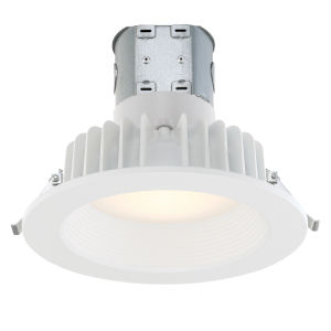White 13W 3000K 895 Lumen LED Recessed Light