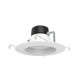 White 18W 2700K 1323 Lumen LED Recessed Light