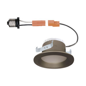 Brushed Nickel 10W 3000K 570 Lumen LED Recessed Light