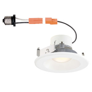 White 10W 3000K 753 Lumen LED Recessed Light