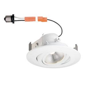 White 10W 4000K 630 Lumen LED Recessed Light