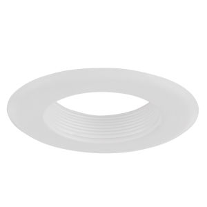 Baffle White Four-Inch Recessed Trim Ring