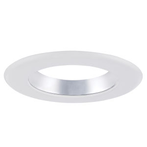 Clear White Six-Inch Recessed Trim Ring
