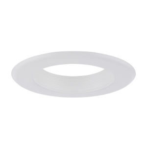 Baffle White Six-Inch Recessed Trim Ring