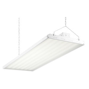 White 48-Inch 320W LED High Bay Hanging Light