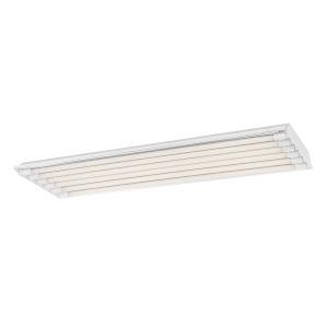 White 48-Inch 90W 4000K Six-Light LED High Bay Light