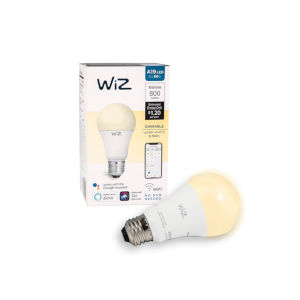 60-Watt Equivalent A19 Dimmable White Wi-Fi Connected Smart LED Light Bulb