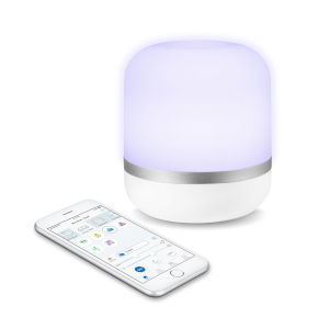 Hero 7-Inch White Colors and Tunable White Wi-Fi Connected Smart LED Table Lamp