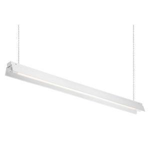 White 48-Inch 5000K LED Shop Light
