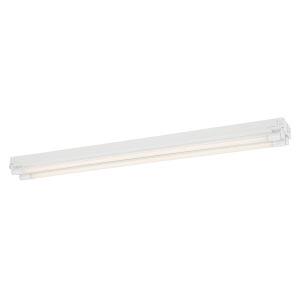 White 14W 3500K Two-Light LED Strip Light