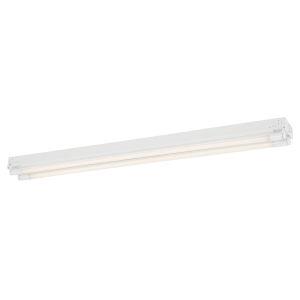 White 14W 4000K Two-Light LED Strip Light