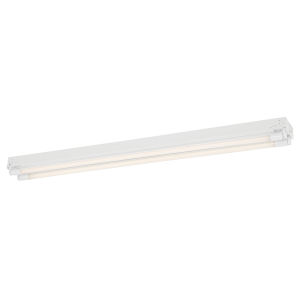 White 26W 4000K Two-Light LED Strip Light