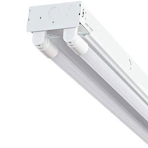 White 48-Inch Two-Light LED Strip Light