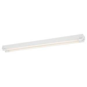 White 26W 3500K Four-Light LED Strip Light