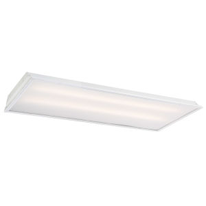 White 48-Inch 40W LED Troffer Light