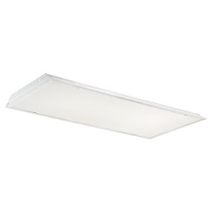 White 48-Inch 50W LED Troffer Light