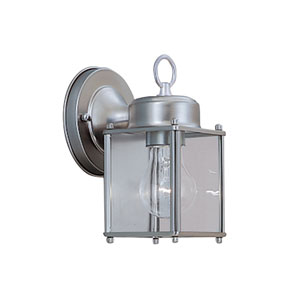 Porch Pewter Wall Lantern
