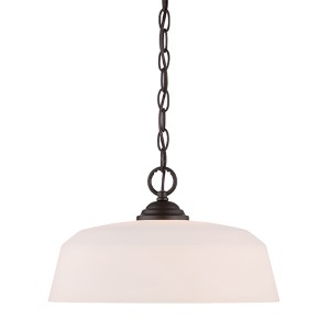 Darcy Oil Rubbed Bronze One-Light Pendant