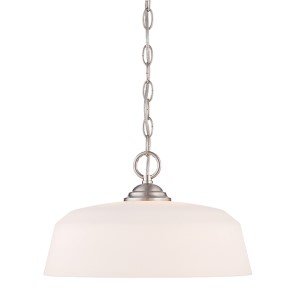 Darcy Brushed Nickel One-Light Pendant
