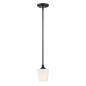 Darcy Oil Rubbed Bronze One-Light Mini Pendant
