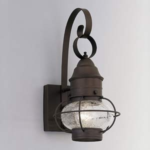 Nantucket Rustique One-Light Outdoor Wall Mounted Light