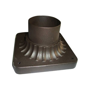 Oil Rubbed Bronze Cast Pier Mount