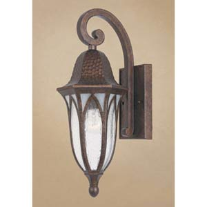 Berkshire Burnished Antique Copper One-Light Outdoor Wall Mounted Light