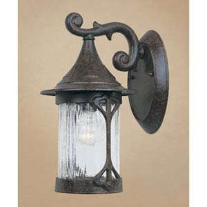 Canyon Lake Chestnut One-Light Outdoor Wall Mounted Light