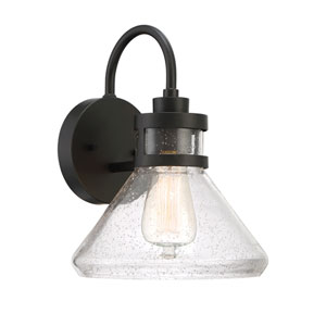 Creslee Oil Rubbed Bronze One-Light Outdoor Wall Lantern