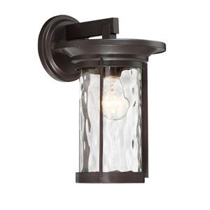 Brookline Satin Bronze One-Light Outdoor Wall Lantern