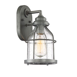 Brensten Weathered Iron One-Light Outdoor Wall Lantern