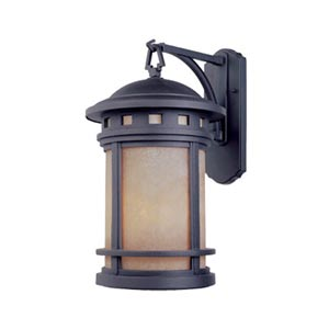 Sedona Oil Rubbed Bronze One-Light Outdoor Wall Lantern