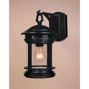 Sedona Oil Rubbed Bronze One-Light Outdoor Wall Mounted Light