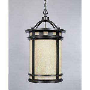 Sedona Oil Rubbed Bronze Three-Light Lantern Pendant