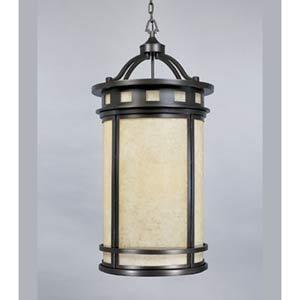 Sedona Oil Rubbed Bronze Four-Light Lantern Pendant