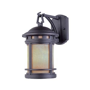 Sedona Oil Rubbed Bronze Large Three-Light Outdoor Wall Lantern