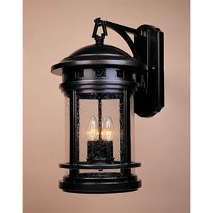 Sedona Oil Rubbed Bronze Four-Light Outdoor Wall Mounted Light