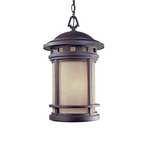 Sedona Oil Rubbed Bronze Three-Light Outdoor Pendant