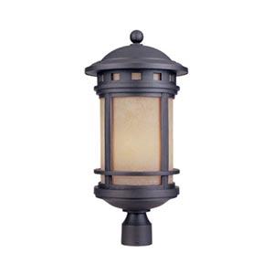 Sedona Oil Rubbed Bronze Three-Light Outdoor Post Lantern
