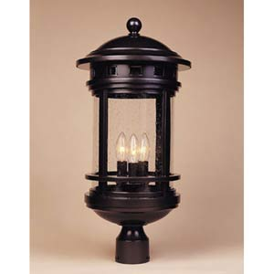 Sedona Oil Rubbed Bronze Four-Light Outdoor Post Mounted Light
