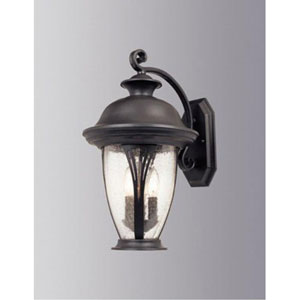 Westchester Bronze Two-Light Outdoor Wall Mounted Light