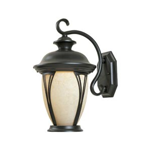 Westchester Bronze Three-Light Outdoor Wall Lantern