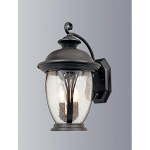 Westchester Bronze Three-Light Outdoor Wall Mounted Light