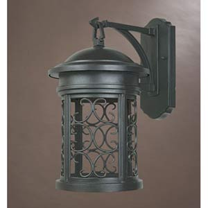 Ellington Oil Rubbed Bronze One-Light Dark Sky Outdoor Wall Light