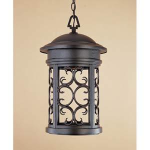 Ellington Oil Rubbed Bronze One-Light Dark Sky Outdoor Pendant