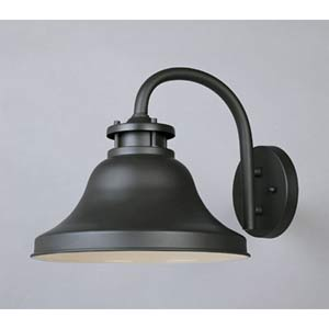 Bayport Large Bronze One-Light Outdoor Wall Light