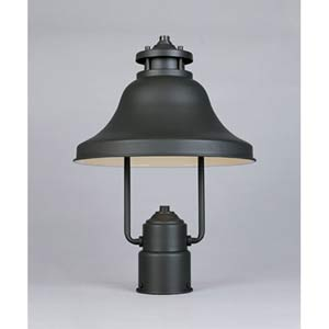Bayport Bronze One-Light Outdoor Post Light