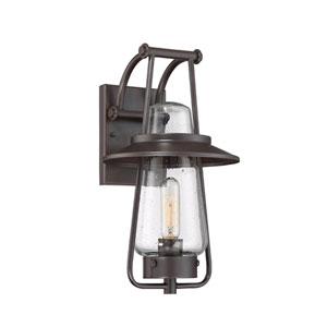 Stonyridge Satin Bronze One-Light Outdoor Wall Lantern