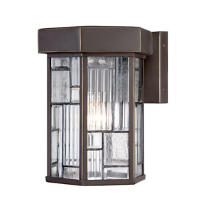 Kingsley Aged Bronze Patina One-Light Wall Lantern